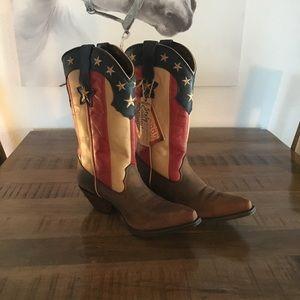 Durango Stars and Stripes Flag Boots